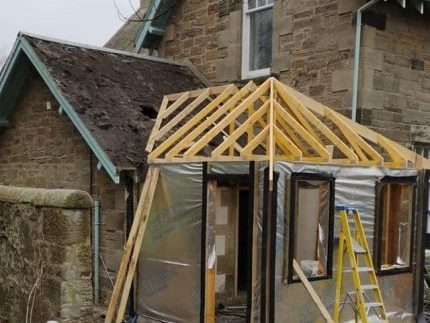 Kirknewton Renovation Roof