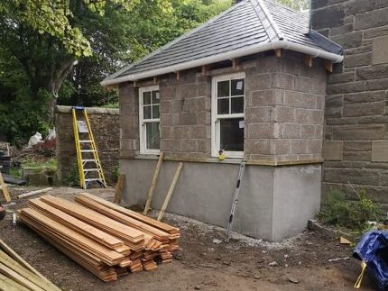 Kirknewton Renovation Stonework