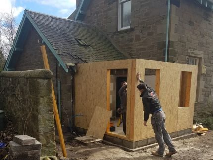 Kirknewton Renovation Construction