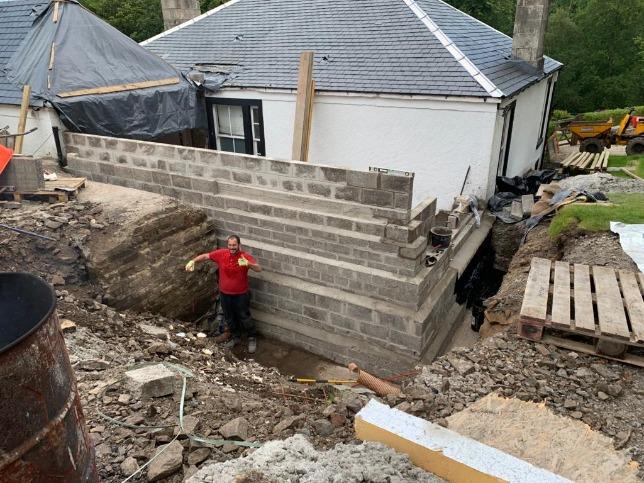 Strathaven Extension Groundwork